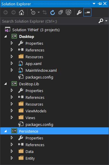 FitNet Desktop Solution View